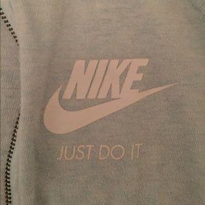 Nike Jackets & Coats - Nike Light Blue Jacket